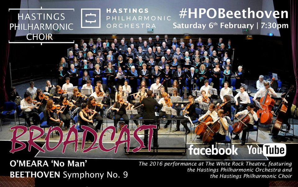 Hastings Philharmonic Choir: Beethoven and O'Meara broadcast